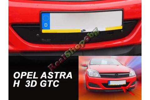 Зимен дефлектор (протектор) за решетка HЕКО за Opel Astra H (2005-2010) - 3D - GTC - down