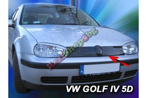 Зимен дефлектор (протектор) за решетка HЕКО за VW Golf 4 (1997–2004) - upper