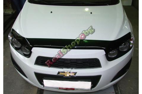 Дефлектор за преден капак Vip Tuning за Chevrolet Aveo (2011+)