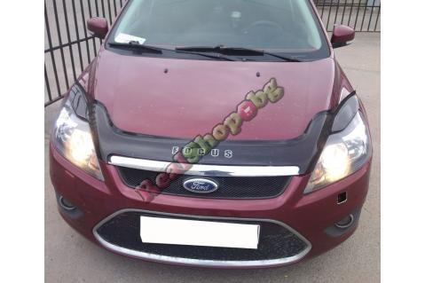 Дефлектор за преден капак Vip Tuning за Ford Focus (2008-2011) - дълъг