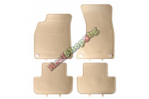 Гумени стелки Geyer & Hosaja за Audi A4 B8 (2007+) - Бежови