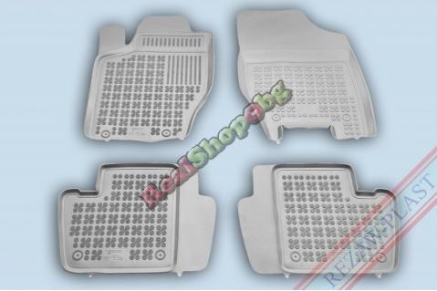 Гумени стелки Rezaw-Plast за Citroen C4 (2004-2015) - тип леген - с пожарогасител - Сиви