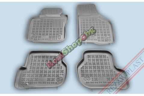 Гумени стелки Rezaw-Plast за Seat Leon (2005-2012) - тип леген - Сиви