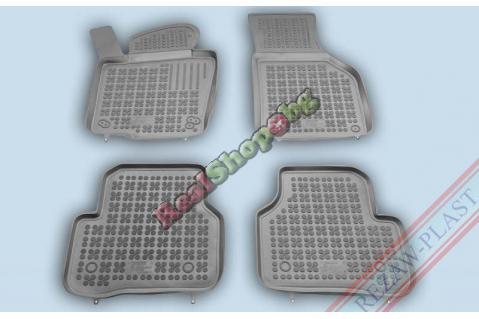 Гумени стелки Rezaw-Plast за Volkswagen Passat B6 , B7 , Tiguan , Jetta (2005+) - тип леген - Сиви