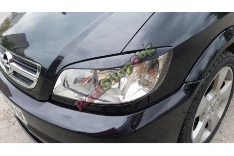 Вежди за фарове за Opel Zafira A (1998-2005) - EU - Черни