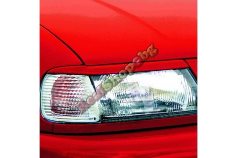 Вежди за фарове за Seat Ibiza (1993-1999) - Германия - Черни